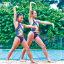 What is synchronised swimming for children?