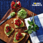 Recipes for kids: Edamame pita bread bruschetta