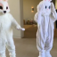 Kanye West And Tyga Dressed As Easter Bunnies And North Loved It