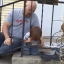 Dad Comes To The Rescue When Son Gets Head Stuck In Metal Railings