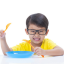 Picky eating: child eats at school but not at home