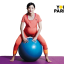 Easy exercise ball workout for pregnancy