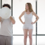 Pregnancy Time Lapse Video: Mum-To-Be's Bump Grows As She Inhales Large White Balloon