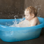 Baby has fever: why you should not give cold bath