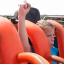 Dad Films Son's Hilariously Mixed Reaction To His First Ever Rollercoaster Ride