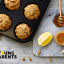 Recipe for baby: vegan fruity oat muffins
