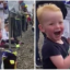 Two-Year-Old Boy Literally Shakes With Excitement Watching Motorbikes Racing At Silverstone
