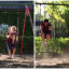 Dad Turns Kids' Play Time Into Exercise Assault Course