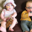 Mum Shows How Much Premature Twins Have Grown By Comparing Them To Bottles Of Iced Coffee