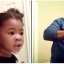 Adorable Toddler Gives Dad Words Of Encouragement As He Does Her Hair