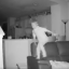 Dad's Home CCTV Camera Reveals Son's Overnight Sofa Jumping Fun