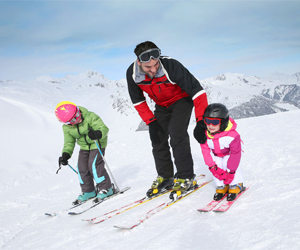 4 tips to help prepare your kid for his first ski holiday