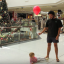 How To Go Christmas Shopping With A Toddler: Dad Demonstrates Brilliant Hack To Stop Kids Getting Lost