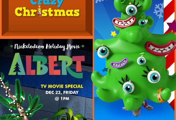 Catch these Crazy Christmas specials on Nickelodeon!
