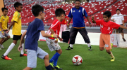 Football for kids: heading balls poses brain damage risk?