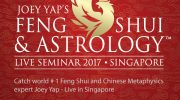 "Win a Pair of Silver Tickets worth over $390 to Joey Yap's Feng Shui & Astrology Live Seminar 2017 ""Ignite The Year of Rooster""!"
