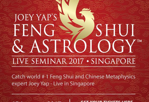 """Win a Pair of Silver Tickets worth over $390 to Joey Yap's Feng Shui & Astrology Live Seminar 2017 """"Ignite The Year of Rooster""""!"""