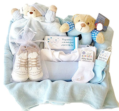 Gift Wrapped Baby Gifts Uk : New arrivals hamper baby boy gift wrapped product
