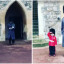Windsor Castle Guardsman Poses For Picture With Toddler Wearing Matching Uniform In Sweet Video