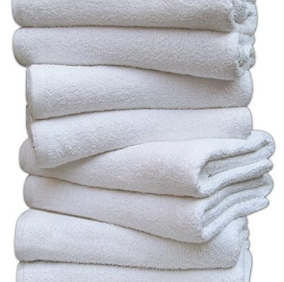 Pack of 12 DARLING Premium Quality Soft Baby Terry Towelling Nappies 100% Cotton 60x60xm