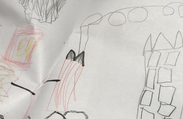 Uncle Shares Hilarious NSFW Drawing Of 5-Year-Old's 'Rocket' He Drew In Reception Class