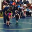 Four-Year-Old Runs Away As The Whistle Blows During His First Ever Wrestling Tournament