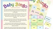 20 Sheet Baby Shower Bingo – Neutral