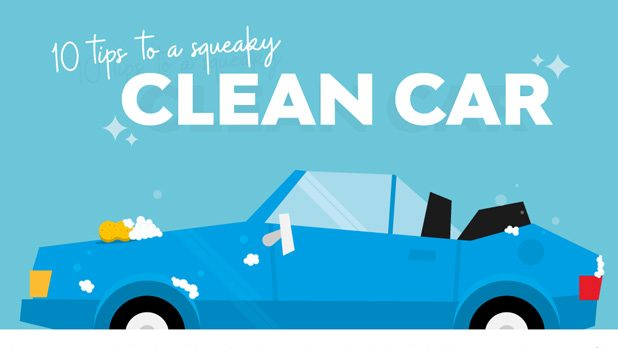 10 tips to getting a squeaky clean car