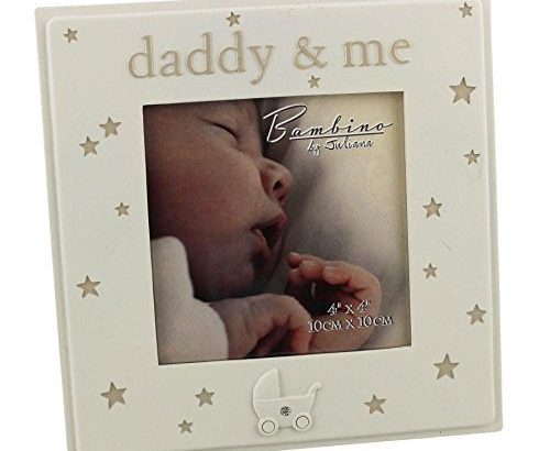 Dad Gift – Baby Photo Frame – Daddy and Me