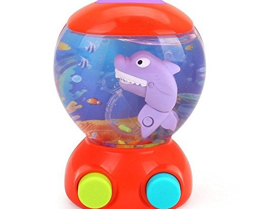 Shark Fish Hunt Water Games Bath Toys for Children Water Toys Bathroom Game Play Set for Toddlers Early Educational Activity Toys