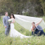Maid Of Honour Upstages Newlyweds In Hilarious Wedding Photos