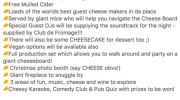 A Giant Cheeseboard Event That Ran Out Of Cheese Has Left People Furious