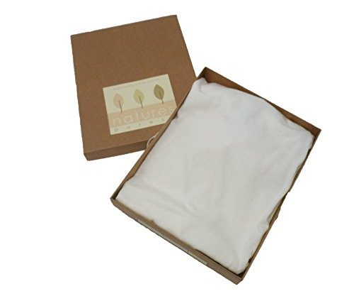 Natures Purest Organically Grown Jersey Cotton Cream Fitted Moses Basket Sheets