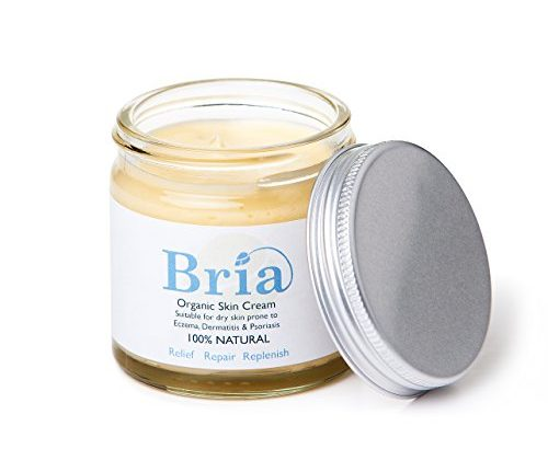Bria 100% Natural Organic Soothing Skin Cream for Eczema Prone & Dry Skin Suitable for Adults, Children & Babies – Fragrance Free (60ml)