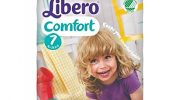 Nappies Libero 7 Comfort XL Nappies 16-26 kg, Pack of 21