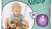 Bambo Nature Maxi Size 4 (15-40lb / 7-18kg) Premium Eco-Nappies – 30 pieces per pack
