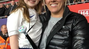 6-Year-Old Told 'You Can't Play Football You're A Girl' Leads England Women's Team And Sheffield As Mascot
