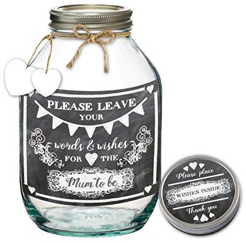 A Delightful Idea To Capture Loved Ones Messages On Your Birthday Party Goers Can Simply Write Note And Pop It In The Jar Is Decorated With