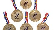 Baby Shower Party Games – 6 Baby Shower PRIZES / FAVORS – Medals #M