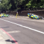 Police Car Overturns During Moped Chase Near Buckingham Palace