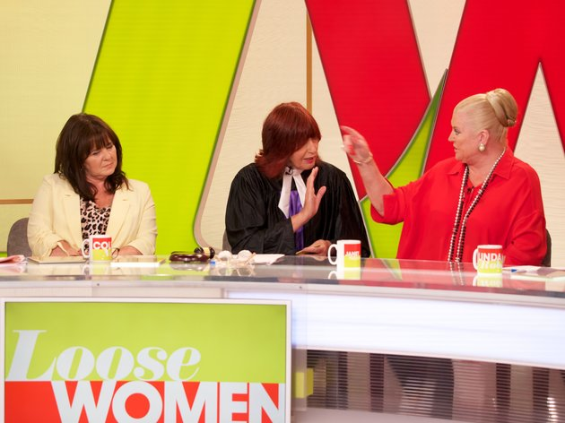 Kim Woodburn and Coleen Nolan came to blows on Loose Women last