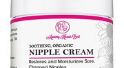 Nipple Cream for Breastfeeding Mums – Soothing All Natural Organic Nipplecreams for Nursing Mothers – Restores and Moisturizes Sore, Chapped Breasts – Baby Safe Breast Feeding Butter (1 FL oz)