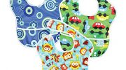 Hippychick Bumkins Superbib, Boy – Pack of 3