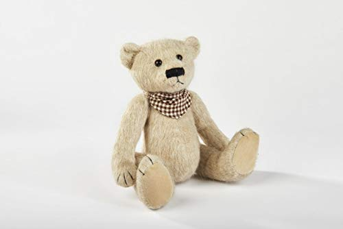 Richards Lang & Son Vintage Teddy Bear Neck Scarf Decorative Old Fashioned Soft Toy