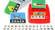 F-blue Children Kids Learning Entertainment English Letter Sight Words Cards Phonics Educational Games for 0-14 Ages