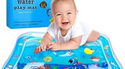 YMToyz Inflatable Water Play Mat, Baby Water Mat Tummy Time for Infants & Toddlers Fun Activity Center Sensory Kids Toys