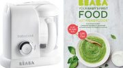 Win! A Beaba Babycook Solo, 4-in-1 baby food maker and cookbook, worth £140!