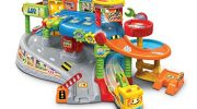 VTech Toot-Toot Drivers Garage, Kids Toy Garage with Music, Fun Phrases & Sounds, Baby Musical Car Track Toy for Boys & Girls 1, 2, 3, 4 & 5 Year Olds