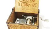"Funmo – Pure hand-classical ""Game of Thrones "" music box hand-wooden music box creative wooden crafts best Gifts"