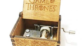 """Funmo – Pure hand-classical """"Game of Thrones """" music box hand-wooden music box creative wooden crafts best Gifts"""
